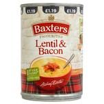 Baxters Favourites Lentil & Bacon Soup Linsensuppe mit Räucherspeck 400g