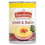 Baxters Favourites Lentil & Bacon Soup 400g - Linsensuppe mit Räucherspeck