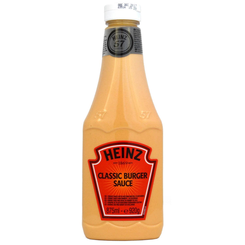 Heinz Classic Burger Sauce 875ml - Feinkostsauce