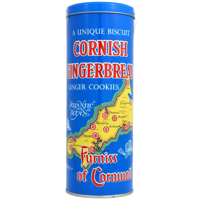 Furniss Cornish Gingerbread Tin 400g - Kekse Ingwer-Geschmack