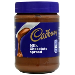 Cadbury Milk Chocolate Spread 400g - Schokoladen-Brotaufstrich