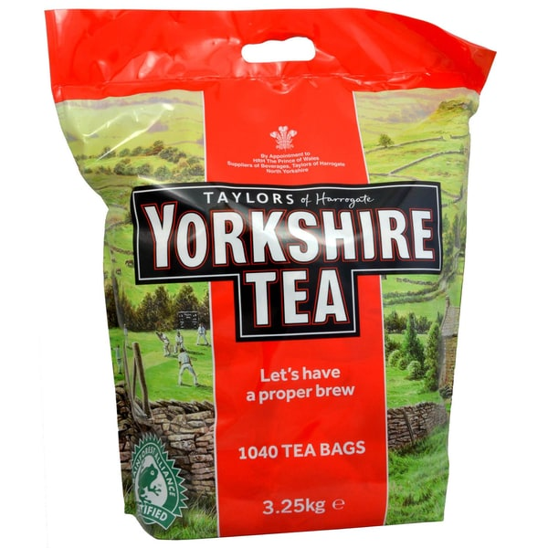 Yorkshire Tea 1040 Tea Bags 3.25kg