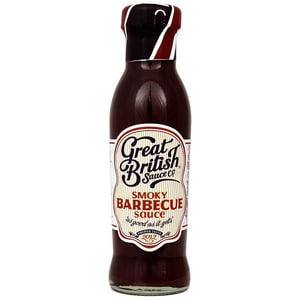 Great British Smoky Barbecue Sauce 330g - Tischsauce, rauchig