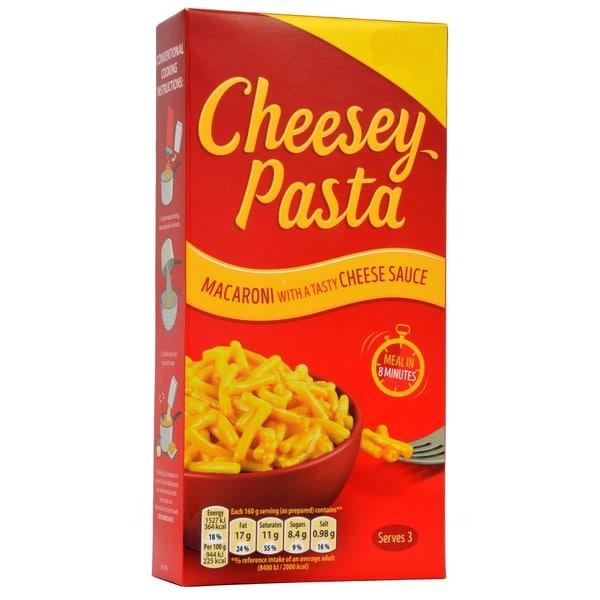 Mondelez (ex Kraft) Cheesey Pasta - 190g - Nudeln mit Käsesoße