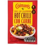 Colmans Hot Chilli Con Carne Recipe Mix