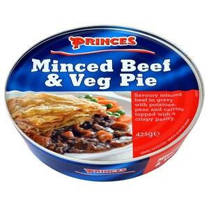 Princes Minced Beef & Veg Pie 425g - Pastete mit Hackfleisch-Gemüse-Füllung