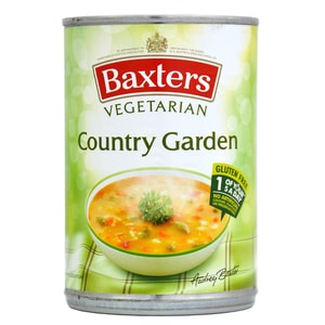 Baxters Country Garden Soup 400g - Gemüsesuppe mit Reis