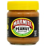 Marmite Crunchy Peanut Butter Erdnussbutter mit Hefeextrakt 225g