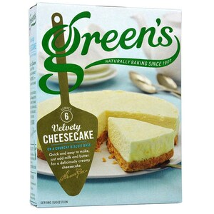 Greens Velvety Cheesecake Kit - Backmischung Käsekuchen