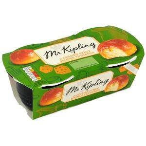 Mr. Kipling 2 Golden Syrup Sponge Puddings 190g - Rührkuchen mit Golden Syrup Sauce