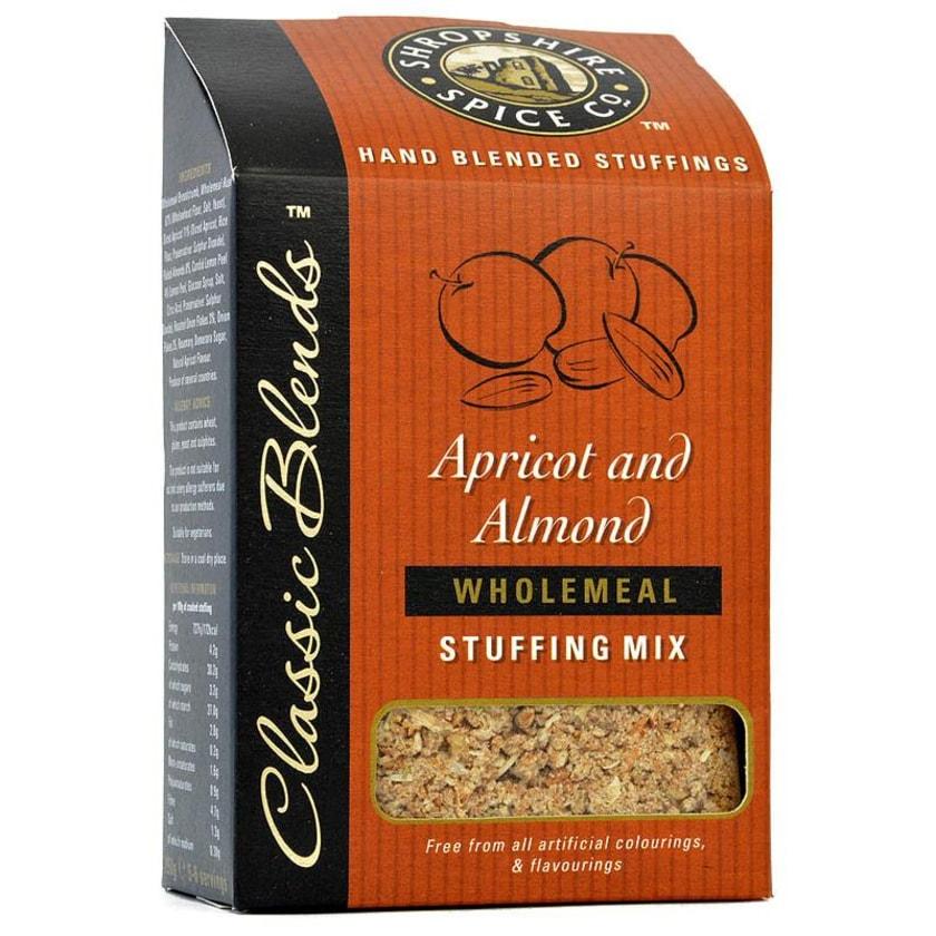 Shropshire Apricot & Almond Stuffing Mix - Füllung für Fleisch mit Aprikosen & Mandeln