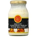 Devon English Clotted Cream with Brandy Milchmischerzeugnis aus Sahne Zucker und Brandy 170g