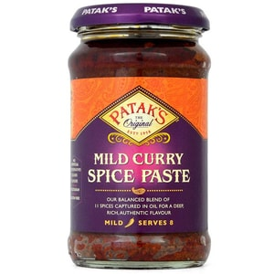 Pataks Mild Curry Gewürz-Paste 283g