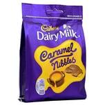 Cadbury Caramel Nibbles 120g - Milchschokolade mit Karamell-Füllung