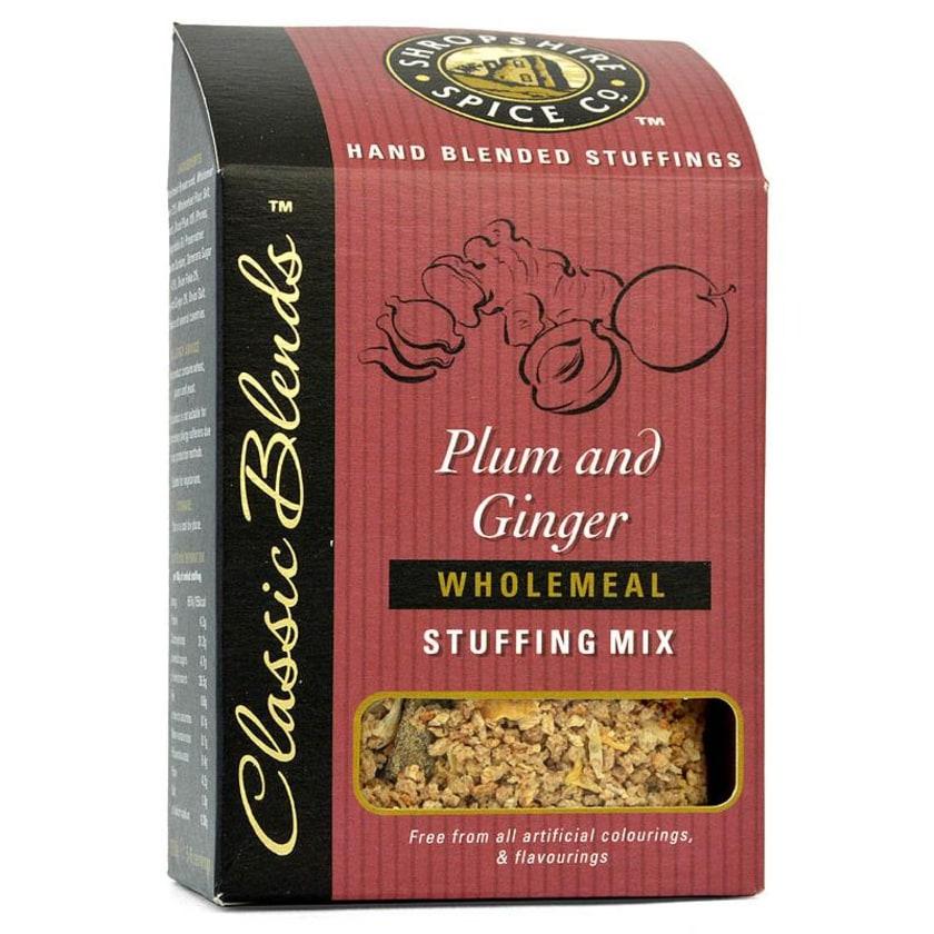 Shropshire Plum & Ginger Stuffing Mix - Füllung für Fleisch mit Pflaumen & Ingwer
