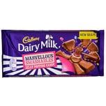 Cadbury Dairy Milk Jelly Popping Candy 180g - Milchschokolade mit Gummibärchen, Schokolinsen und Brausestückchen