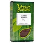 Green Cuisine Sumac Berries 20g Sumachbeeren, gemahlen