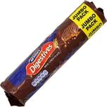 McVities Milk Chocolate Digestives Weizenschrotkekse mit Milchschokoladenüberzug 433g