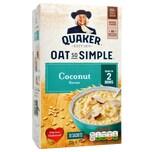 Quaker Oat So Simple Coconut Porridge 10 Sachets Instant-Porridge Kokosnuss-Geschmack 333g