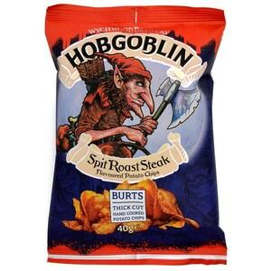 Hobgoblin Spit Roast Steak Chips 40g - Kartoffelchips, Steak-Geschmack