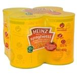 Heinz Spaghetti in Tomato Sauce 4 x 400g