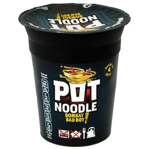Pot Noodle Bombay Bad Boy - Instant-Nudelgericht, scharf