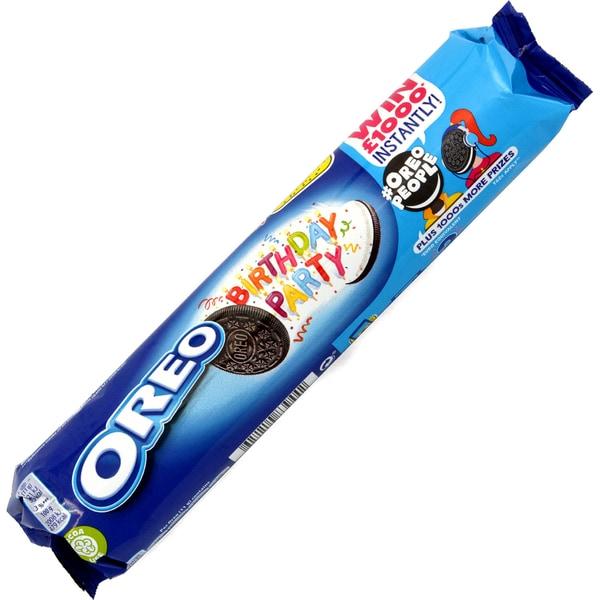 Oreo Birthday Party - Doppelkekse mit Cremefüllung 154g