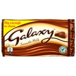 Galaxy Milk Chocolate Bar 110g - Milchschokolade