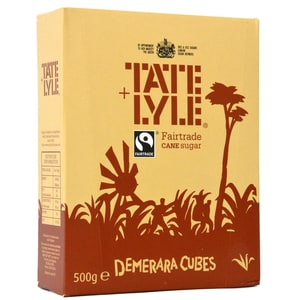 Tate & Lyle Demerara Sugar Cubes for Coffee - Demerara-Zucker-Würfel