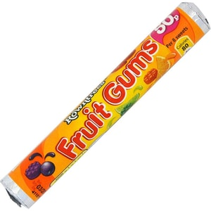 Rowntrees Fruit Gums Tube - Fruchtgummi