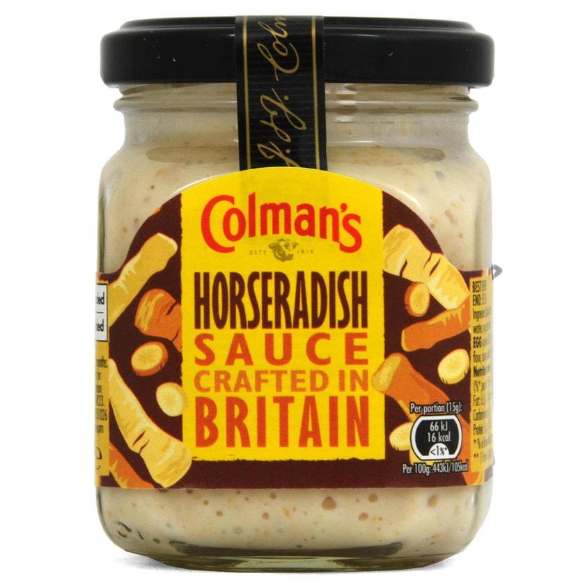 Colmans Horseradish Sauce 136g - Meerrettichsauce