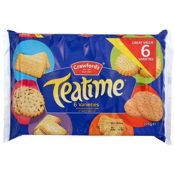 Crawfords Teatime Keks-Sortiment 275g