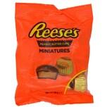 Reeses Peanut Butter Cups Miniatures 80g - Erdnusscreme mit Schoko-Überzug