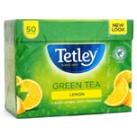 Tetley Lemon Green Tea 50 Bags Grüner Tee mit Zitrone