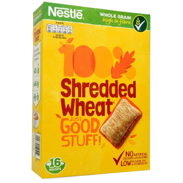 Nestle Shredded Wheat 16er Vollkorn-Getreidekissen