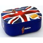 Walkers Shortbread Union Jack Tin 120g - Buttergebäck