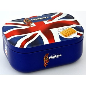 Walkers Shortbread Union Jack Tin 120g - Buttergebäck