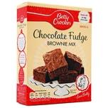 Betty Crocker Chocolate Fudge Brownie Mix Backmischung Schokoladenbrownies 415g