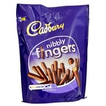 Cadbury Nibbly Fingers 125g Kekse in Milchschokolade