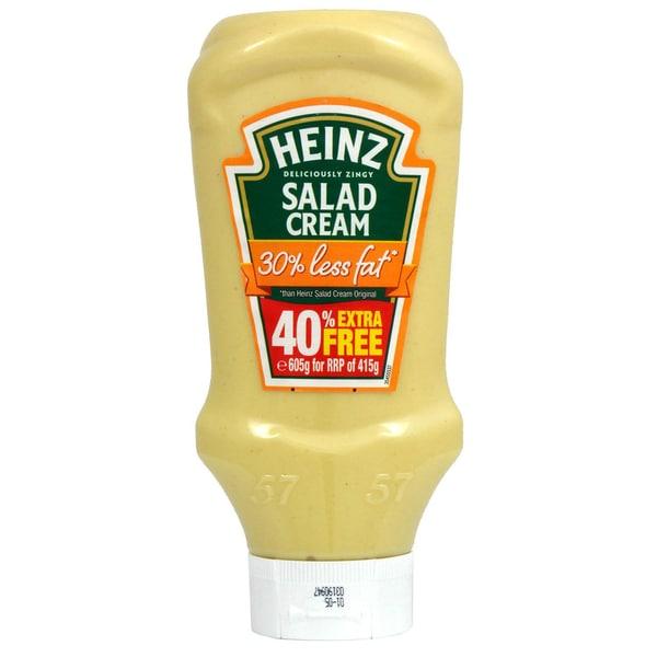 Heinz Salad Cream 30% fettreduziert 605g - 570ml