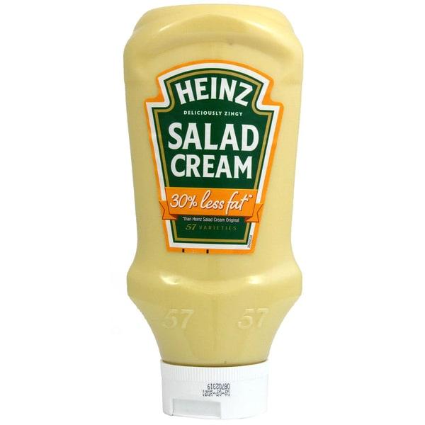 Heinz Salad Cream 30% fettreduziert 605g 570ml