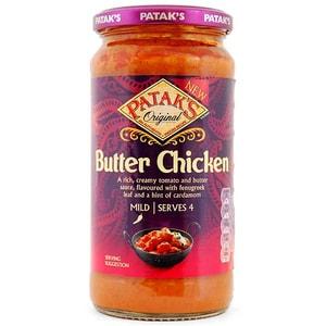 Patak´s Butter Chicken Kochsoße Glas 450 g