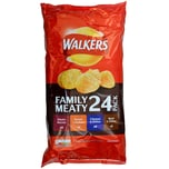 Walkers 24er-Pack Meaty Variety Chips 600g