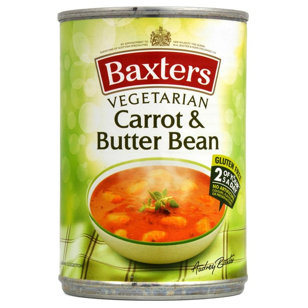 Baxters Carrot & Butter Bean Soup - Karotten-Mondbohnen-Suppe