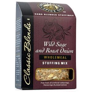 Shropshire Wild Sage & Rost Onion Wholemeal Stuffing Mix - Füllung für Fleisch aus Brot mit Salbei & Zwiebeln
