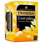 Twinings Everyday Tee 50 Teebeutel - 145g - Schwarztee in Teebeuteln
