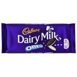Cadbury Dairy Milk with Oreo gefüllte Milchschokolade 120g