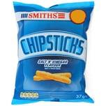 Smiths Chipsticks Salt & Vinegar 30x37g Box - Mais-Kartoffel-Gebäck, Salz-und-Essig-Geschmack