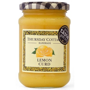 Thursday Cottage Lemon Curd Zitronen-Aufstrich mit Butter und Ei 310g