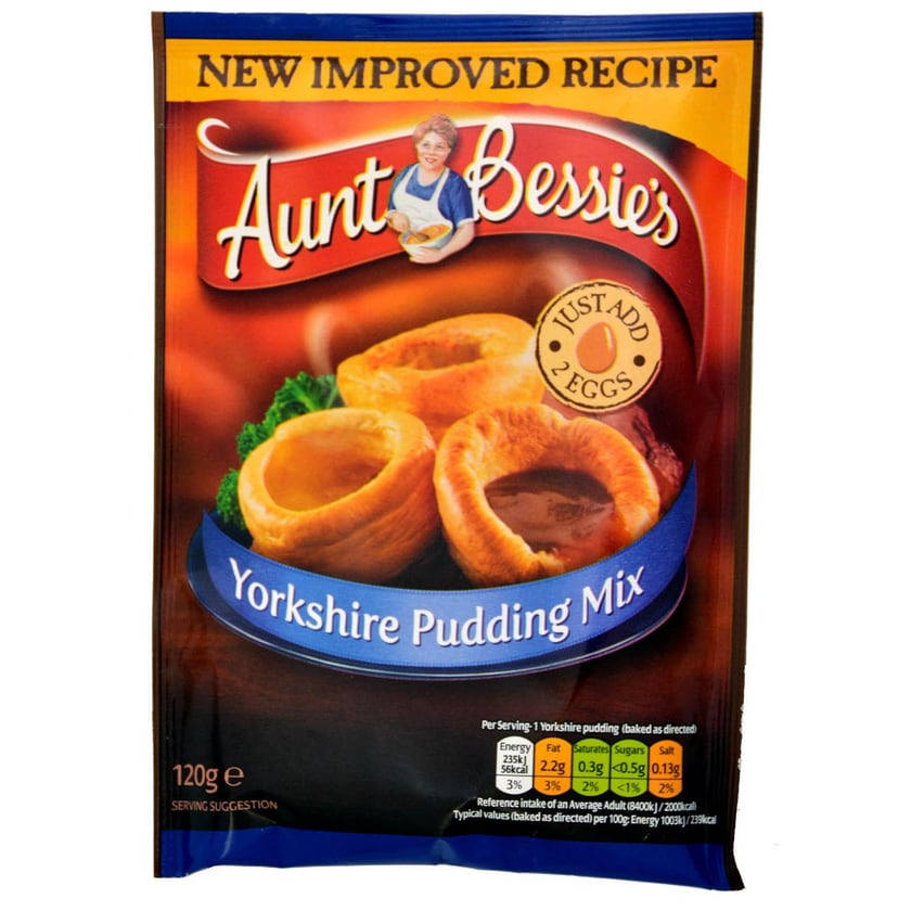 Aunt Bessies Yorkshire Pudding Mix 120g - Backmischung
